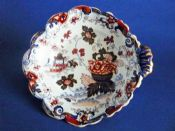 Charles Meigh Improved Stone China 'Amherst Japan' Serving Dish c1835